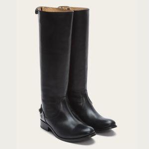 NEW FRYE Melissa Button Back Zip Boot